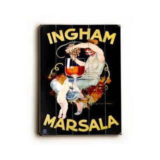 Ingham Marsala Wine - Wall Decor by Marcello Dudovich