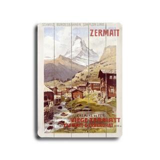 Swiss Alps Zermatt Matterhorn Poster - Wall Decor by Anton Reckziegel