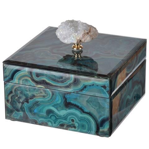 Bethany Marbled Small 6-inch x 6-inch x 5-inch Box