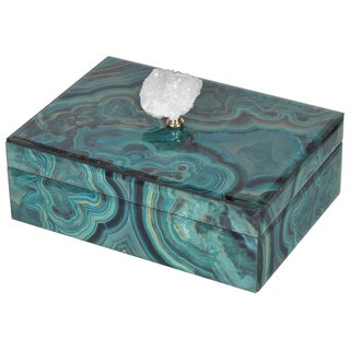 Bethany Large 10-inch x 7-inch x 5-inch Marbled Box