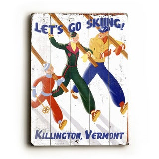 Let's Go Skiing - Wall Decor by Posters Please