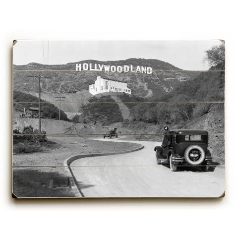 Hollywood, Los Angeles c.1924 - Wall Decor by Underwood Photo Archive - multi