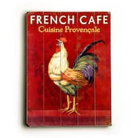 French Café Rooster - Wall Decor by Posters Please