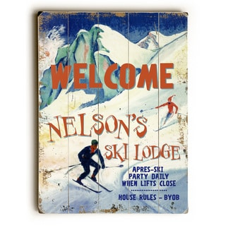 Welcome Ski Lodge - Wall Decor by Posters Please
