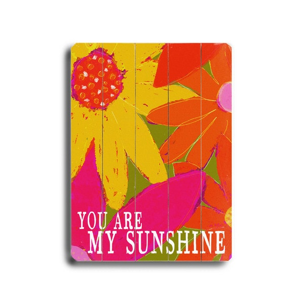 You Are My Sunshine   Wall Decor By Lisa Weedn