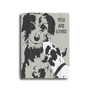 You are loved - Wall Decor by Lisa Weedn