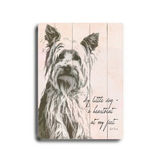 My little dog - Wall Decor by Lisa Weedn