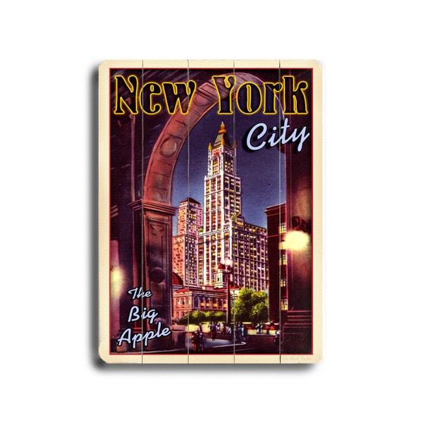 New York City - Wall Decor by Next Day Art - multi