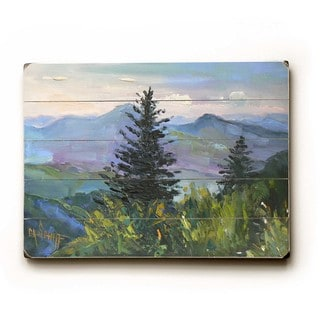 Wooded Landscape - Wall Decor by Carol Schiff