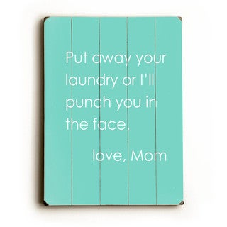 Love Mom - Wall Decor by Cheryl Overton