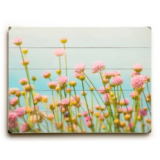 Subtle Pink flowers - Wall Decor by Vanessa Fahmy