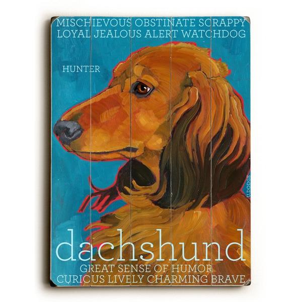 Dachshund - Wall Decor by Ursula Dodge - multi