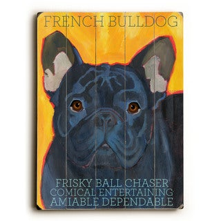 French Bulldog - Wall Decor by Ursula Dodge