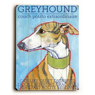 Greyhound - Wall Decor by Ursula Dodge