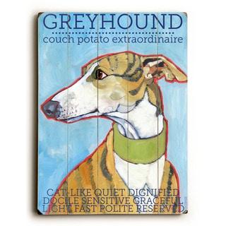Greyhound - Wall Decor by Ursula Dodge