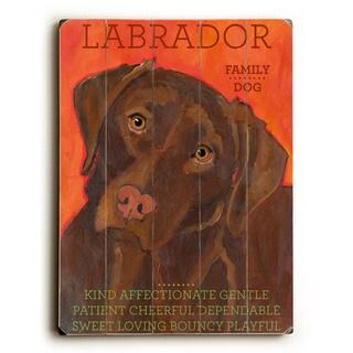 Labrador - Wall Decor by Ursula Dodge - multi