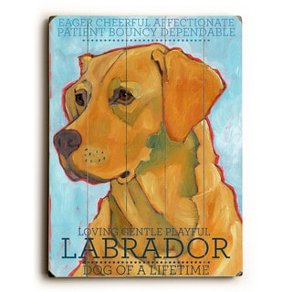 Labrador - Wall Decor by Ursula Dodge