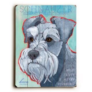 Schnauzer - Wall Decor by Ursula Dodge
