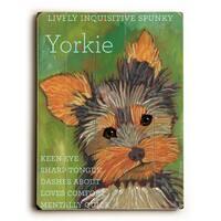 Yorkie - Wall Decor by Ursula Dodge