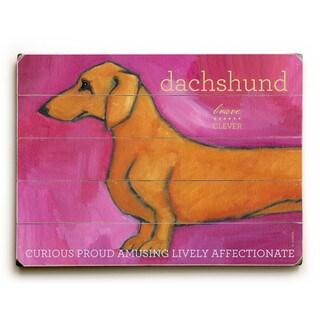 Dachshund - Wall Decor by Ursula Dodge