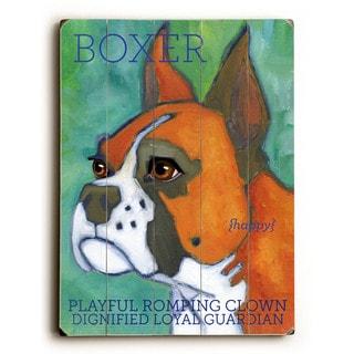 Boxer - Wall Decor by Ursula Dodge