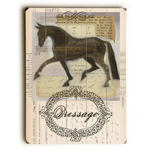 Dressage - Wall Decor by Ursula Dodge
