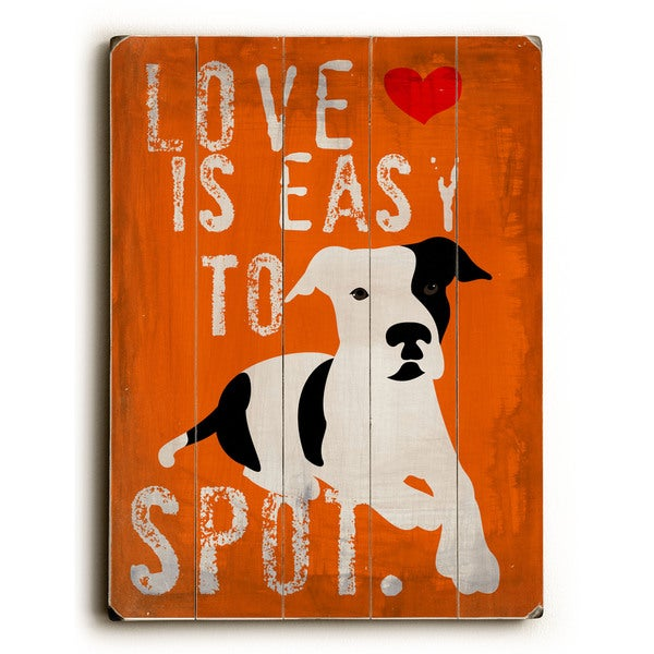 Love is Easy to Spot - Wall Decor by Ginger Oliphant - multi