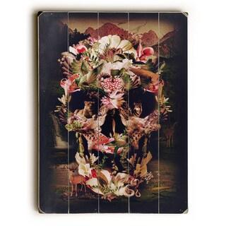 Jungle Skull - Wall Decor by Ali Gulec