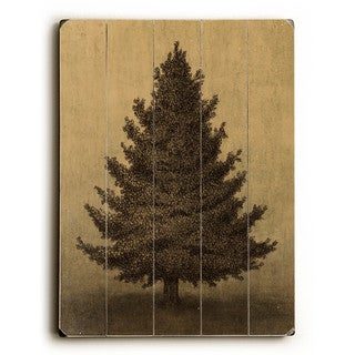 Lonely Pine - Wall Decor by Terry Fan