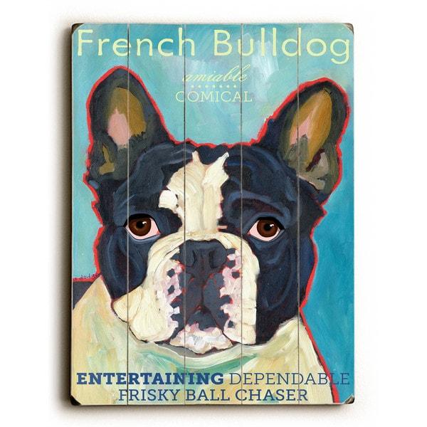 French Bulldog - Wall Decor by Ursula Dodge