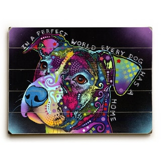 In a Perfect World - Wall Decor by Dean Russo
