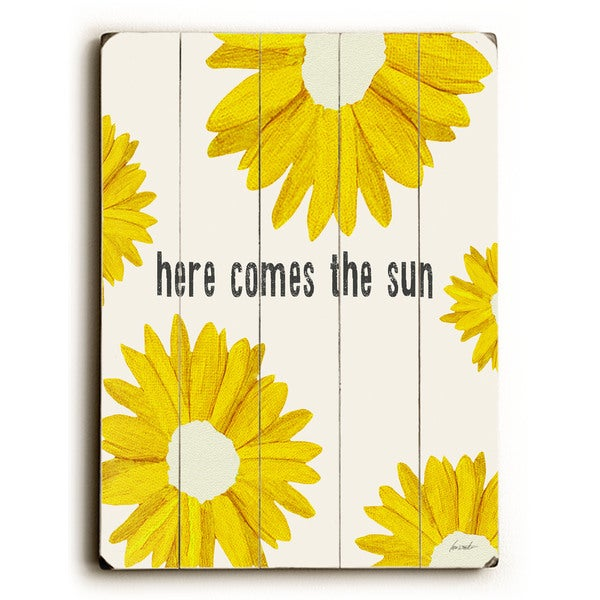 here comes the sun - Wall Decor by Lisa Weedn