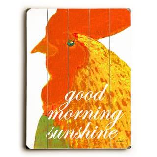 good morning sunshine - Wall Decor by Lisa Weedn