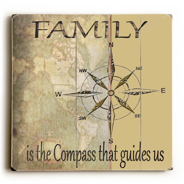 Family Is - Wood Wall Decor by Karen Williams - Free Shipping Today ...