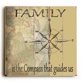Family Is - Wood Wall Decor by Karen Williams