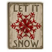 Let it Snow - Wall Decor by Misty Diller