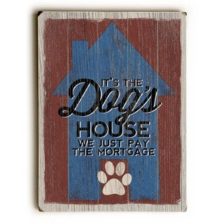 The Dog's House - Wall Decor by Misty Diller