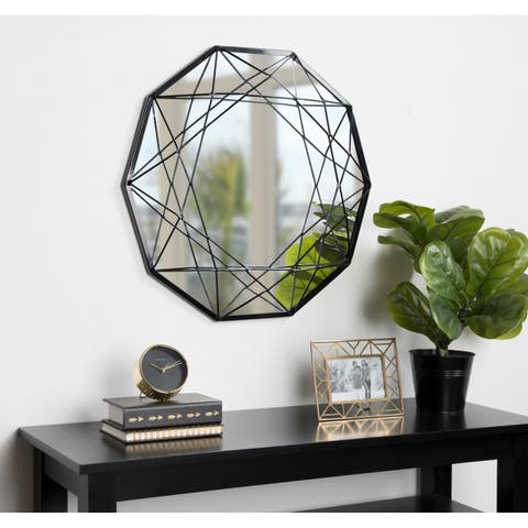 Kate and Laurel Keyleigh Metal Accent Wall Mirror
