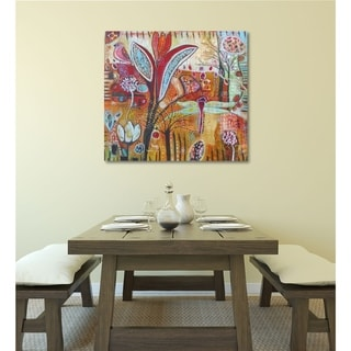Courtside Market Exotica Gallery Wrapped Canvas Wall Art - 24X24