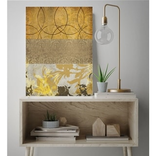 Courtside Market Yellow Flower I Canvas Wall Art - 12x18