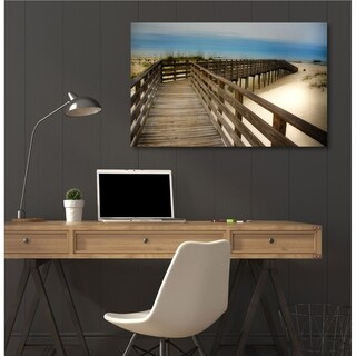 Courtside Market Beach Time Gallery Wrapped Canvas Wall Art - 12x18