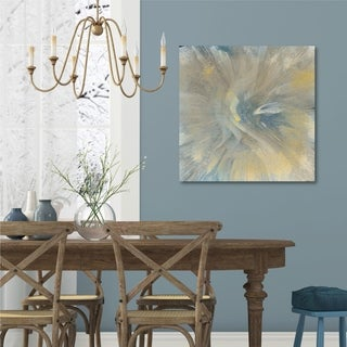 Courtside Market Explosion Gallery Wrapped Canvas Wall Art - 36x36