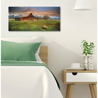 Courtside Market The Moulton Ranch Gallery Wrapped Canvas Wall Art - 24x48
