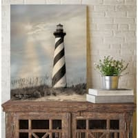 Courtside Market Cape Hatteras Lighthouse Gallery Wrapped Canvas Wall Art - 22x33