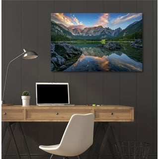 Courtside Market Superiore II Gallery Wrapped Canvas Wall Art - 30x45