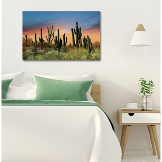 Courtside Market Pheonix Cactus Gallery Wrapped Canvas Wall Art - 30x45