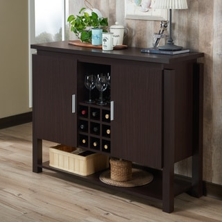 Furniture of America Gigg Contemporary Walnut 47-inch Storage Buffet
