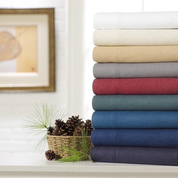 100% Cotton Flannel 3-Piece Sheet Set