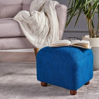 Darya Fabric Triangle Ottoman Stool by Christopher Knight Home