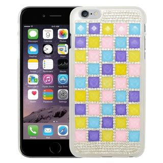 Insten Colorful 3D Hard Snap-on Diamond Bling Case Cover For Apple iPhone 6 Plus/ 6s Plus